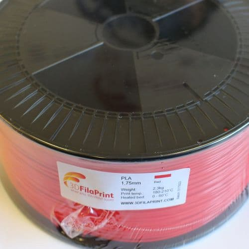 2.3KG FilaPrint Red Premium PLA 1.75mm 3D Printer Filament