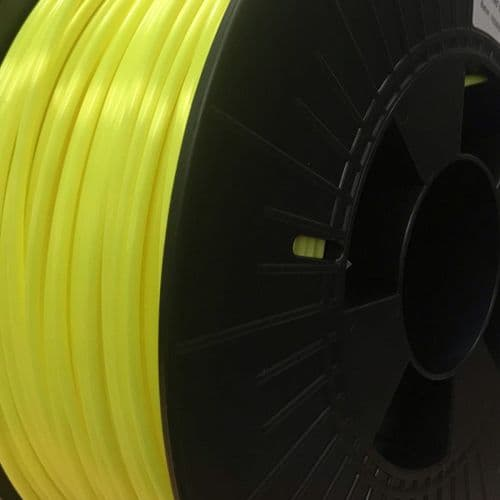 3D FilaPrint Satin Fluorescent Yellow PLA 2.85mm 3D Printer Filament
