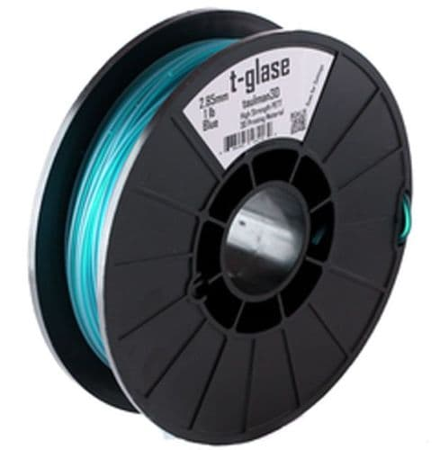 Aqua t-glase PETT 2.85mm 3D Printer Filament 1lbs