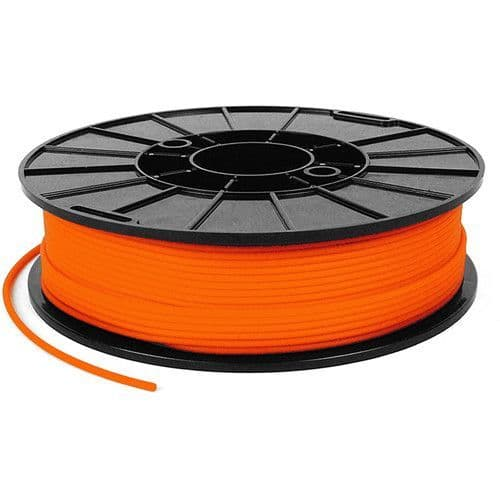 Armadillo Orange Lava 75D Rigid TPU 3D printing filament 3mm