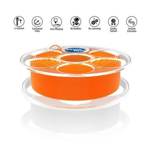 AzureFilm Orange PLA 1.75mm 1Kg