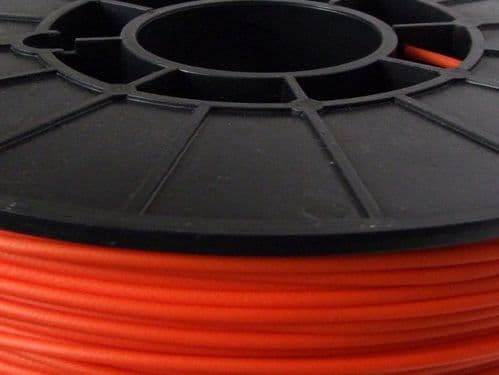 Cheetah Orange Lava 95A TPU Flexible 3D printing filament 3mm 500gms