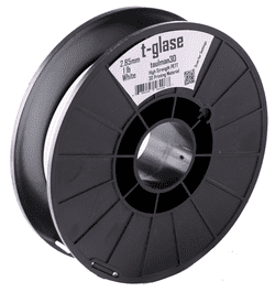 Clear t-glase PETT 2.85mm 1lbs 3D Printer Filament