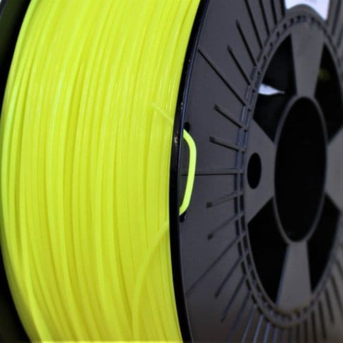 FilaPrint PET-G Fluorescent Yellow  2.85mm 3D Printer Filament