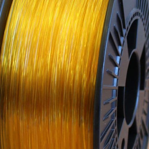 FilaPrint PET-G Yellow Transparent 1.75mm 3D Printer Filament