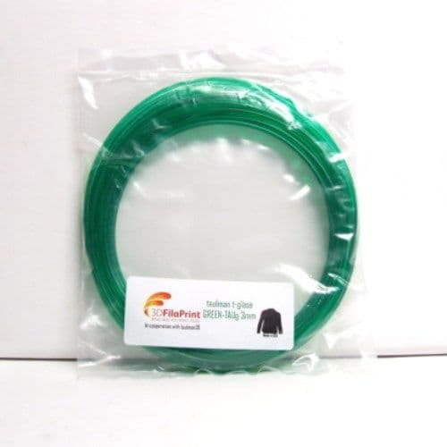 Green t-glase 3mm 5 Metre Wrap