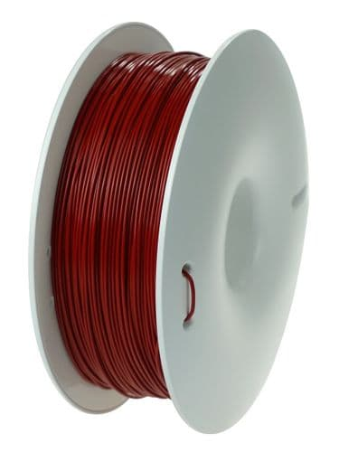 HD PLA 1.75mm Burgundy 3D printing filament by Fiberlogy 850gms