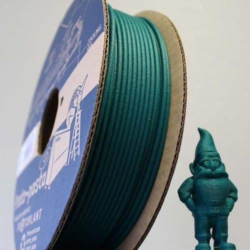 High Temp PLA Matte Fibre Green 1.75mm 3D printing Filament