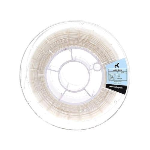 Kimya ABS ESD OFF White 3D Printing filament 1.75mm 500gms