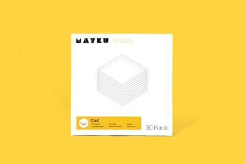 Mayku Cast/Clear 0.5mm Sheets 30 pack