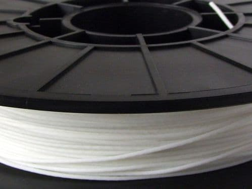 NinjaFlex 85A TPU White Snow 1.75mm Flexible 3D Printer Filament 500gms