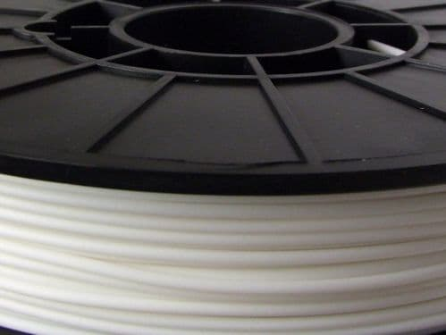 NinjaFlex 85A TPU White Snow 3mm Flexible 3D Printer Filament 500gms