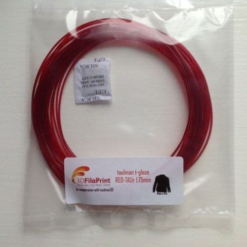 Red t-glase 1.75mm 10 Metre Wrap