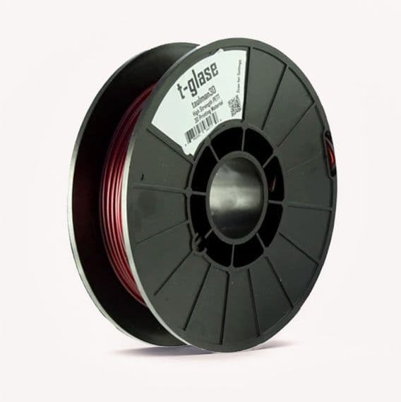 Red t-glase PETT 1.75mm 3D Printer Filament