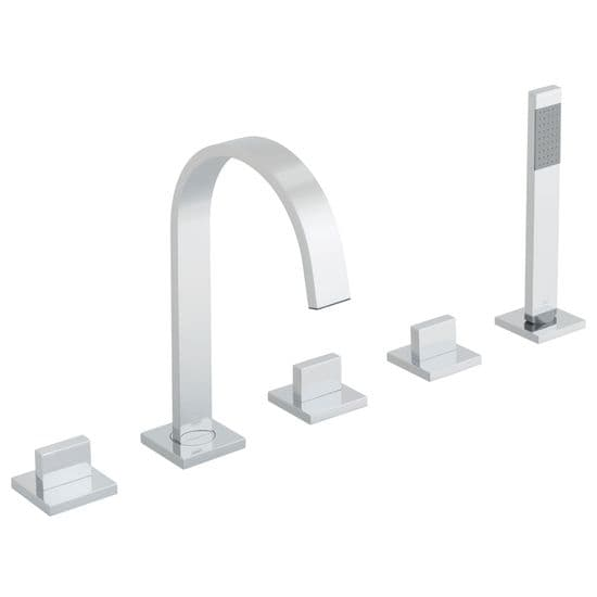 5 Hole Bath Mixer Taps