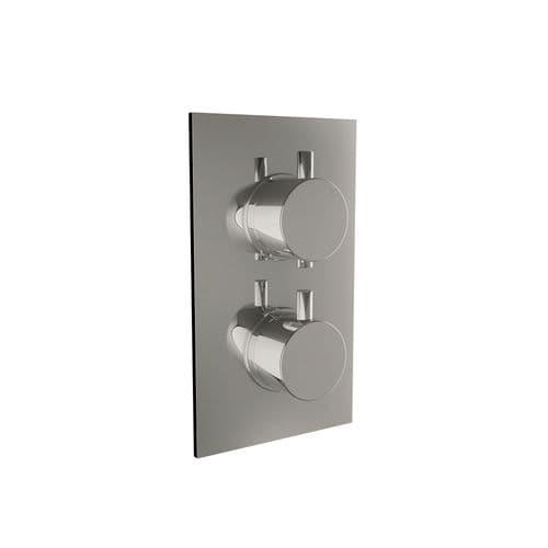 Harrison Bathrooms 1 Outlet Round 2 Handle Concealed Shower Valve