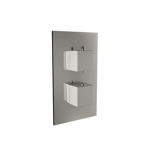 Harrison Bathrooms 1 Outlet Square 2 Handle Concealed Shower Valve