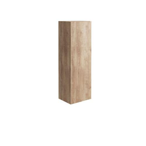 Harrison Bathrooms Ambience Wall Hung Tall Boy Cabinet Rustic Oak