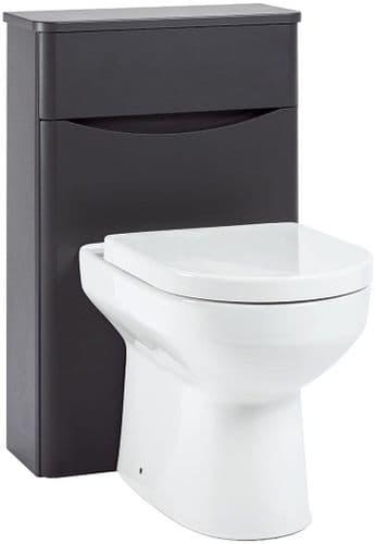 Harrison Bathrooms Bella 500mm Matt Grey WC Unit