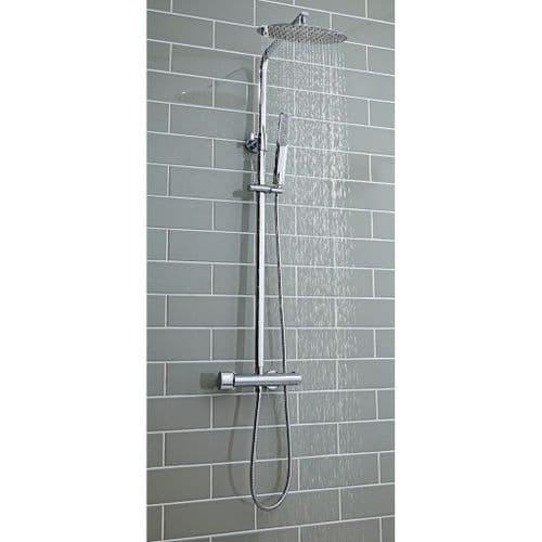 Harrison Bathrooms Marco Oval Rigid Riser Shower