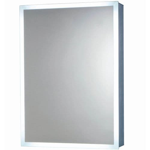 Harrison Bathrooms Mia 500mm x 700mm LED Cabinet With Demister Pad & Socket