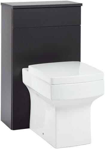 Harrison Bathrooms Muro 500mm Matt Grey WC Unit