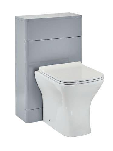Harrison Bathrooms Rossini 500mm Pebble Grey Back To Wall Unit