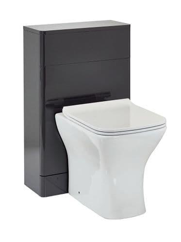 Harrison Bathrooms Rossini 500mm Wolf Grey Back To Wall Unit