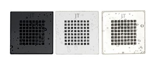 JT Softstone Colour Matched Grill For Cream Slate Effect Shower Tray
