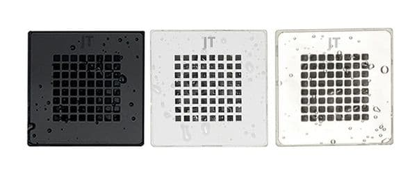 JT Softstone Colour Matched Shower Grill  - Cream