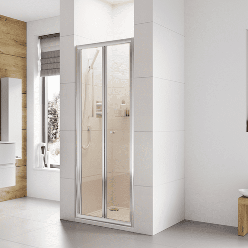 Roman Haven 900mm Bi-Fold  Shower Door