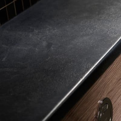 Tavistock Courier Slimline 600mm Worktop Slate Effect