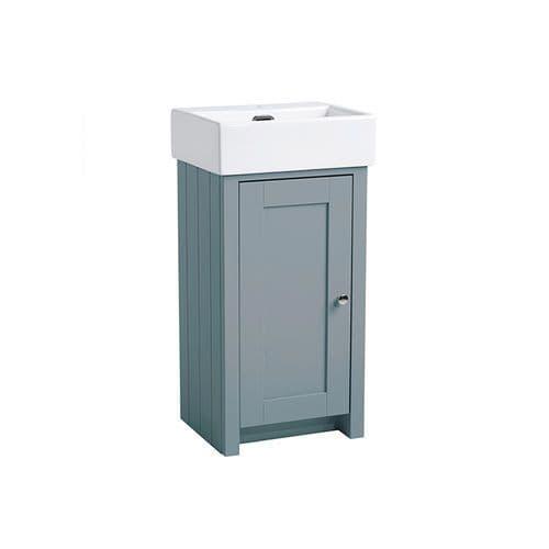 Tavistock Lansdown 430mm Cloakroom Unit Mineral Blue