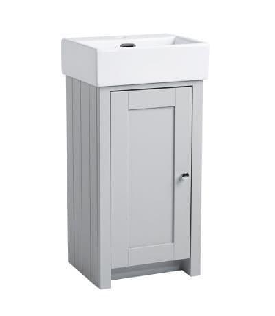 Tavistock Lansdown 430mm Cloakroom Unit Pebble Grey