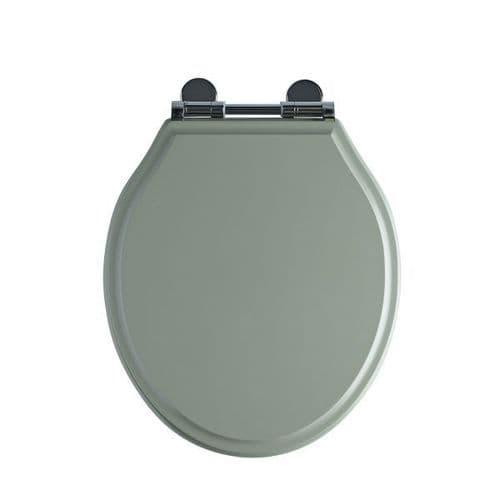 Tavistock Soft Close Wooden Toilet Seat Pebble Grey