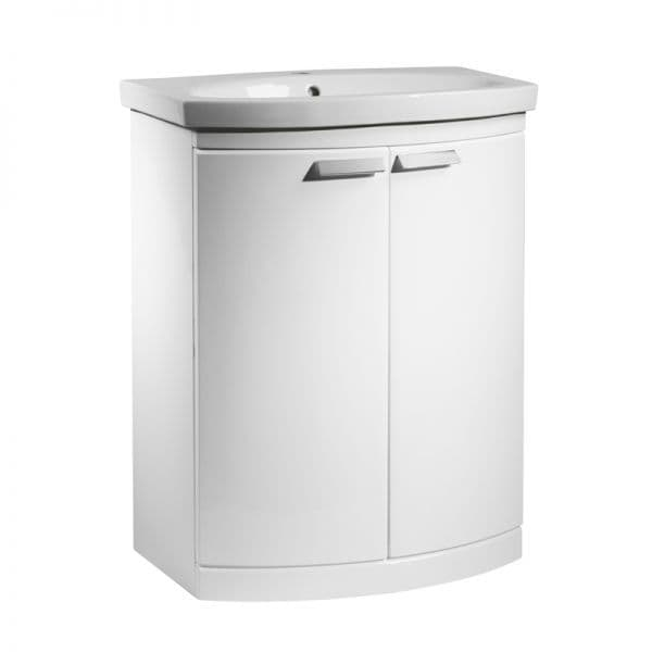 Tavistock Tempo 650mm Basin Unit Gloss White