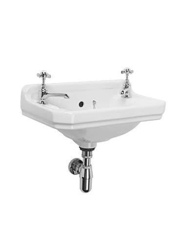 Tavistock Vitoria 500mm Cloakroom Basin & Pedestal