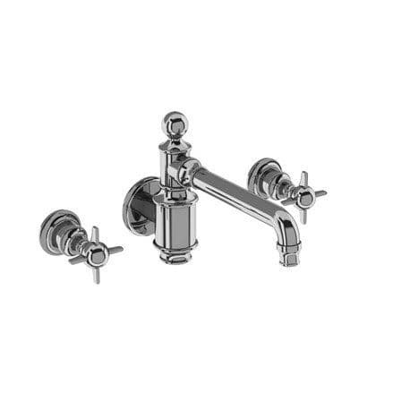 Burlington Arcade 3 Hole Mounted Basin Mixer Without Waste
