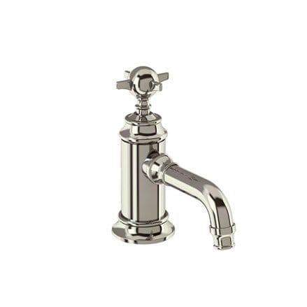 Burlington Arcade Nickel Mini Basin Mixer Without Waste