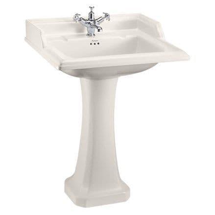 Burlington Classic Medici 65cm Basin & Classic Pedestal