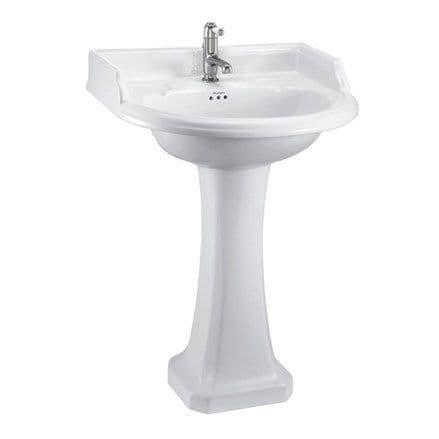 Burlington Classic Round 65cm Basin & Classic Pedestal