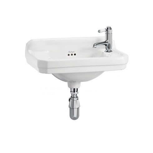 Burlington Edwardian 51cm Cloakroom Basin & Wash Stand