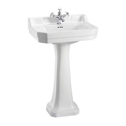Burlington Edwardian 56cm Basin & Regal Wash Stand