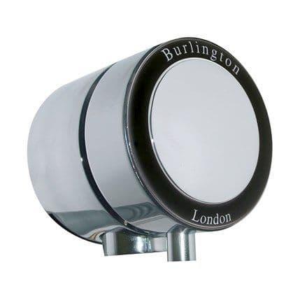Burlington Overflow Bath Filler With Black Ceramic For Single End Baths