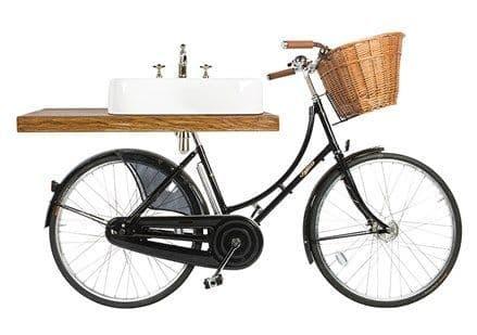 Burlington Pashley Bicycle With 60cm Arcade Basin & Shelf