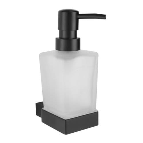 Harrison Bathrooms Mono Matt Black Soap Dispenser