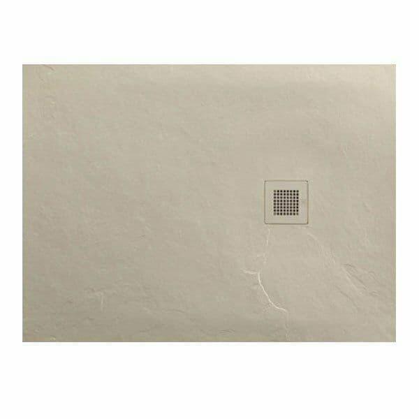 JT Softstone 1200 x 800 Cream Slate Soft Feel Shower Tray