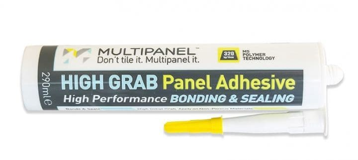Multipanel High-grab Panel Adhesive
