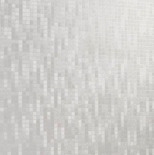 Perform Panel Harmony White Pixel Shower Wall Panel