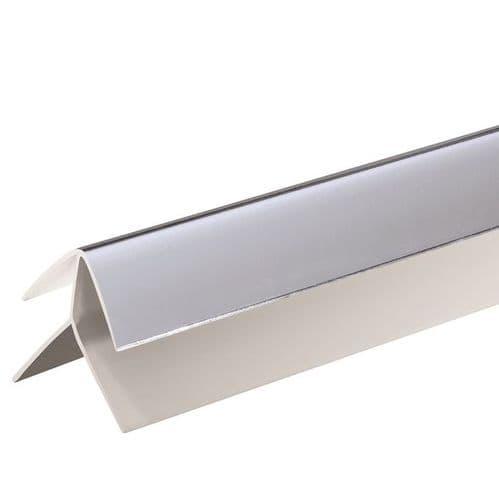 Proplas 8mm PVC External Corner